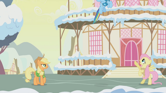 "File:Fluttershy ""No! You simply must wait!"" S1E11.png"