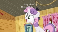Sweetie Belle 'She really said that' S3E06