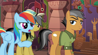"Rainbow ""let Daring Do figure it out"" S6E13"