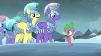 "Royal guard 1 ""faced the evil changelings before"" S6E16"