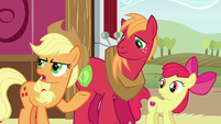 "Applejack ""might as well tell her the whole story"" S6E23"