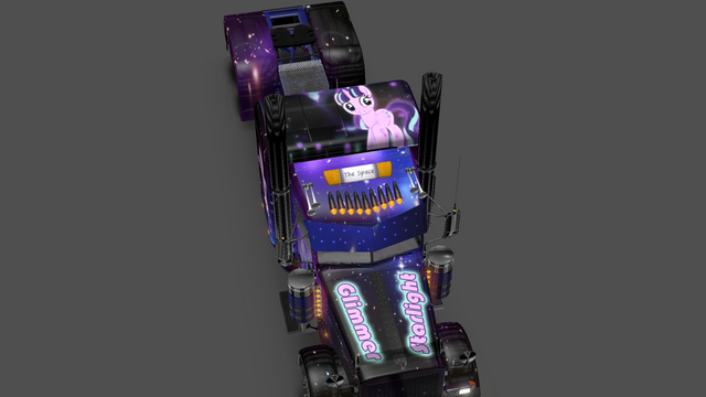 File:FANMADE ETS2 Pete 389 Custom - Starlight Glimmer Skin 9.png