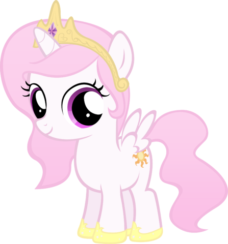 File:FANMADE pink filly Celestia by MoongazePonies.png