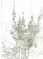 Dave Dunnet Canterlot sketch