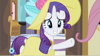 Rarity hold on S2E9