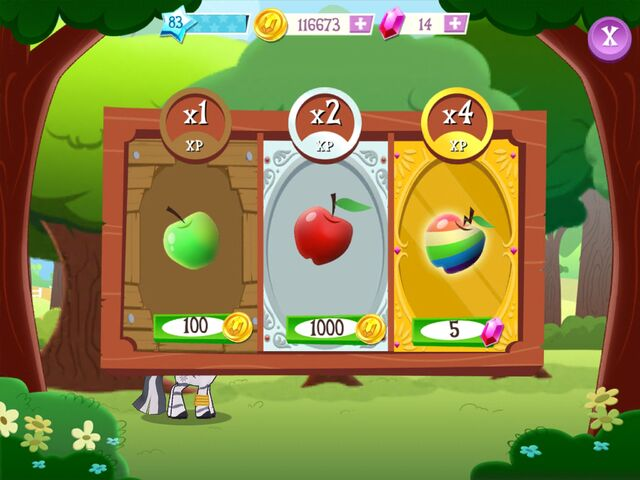 File:Collecting apples minigame apple choice MLP game.jpg