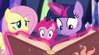 Pinkie peers in EG2