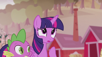 "Twilight ""couldn't find Pinkie or Rarity or Fluttershy or Rainbow"" S5E25"