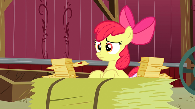 File:Apple Bloom telling Granny Smith all her RSVPs S3E8.png