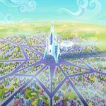 Crystal Empire with stadium S03E12