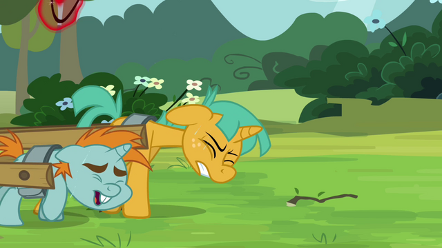 File:Snips and Snails pulling a carriage S3E05.png