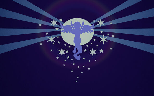 File:FANMADE Luna raising the moon (Copy of Celestia raising the sun in Cutie Mark Chronicles).jpg