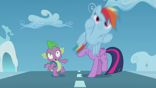 File:Filly Rainbow zooms past Twilight and Spike S5E25.png