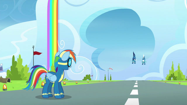 File:Rainbow sees Soarin and Fleetfoot approaching S6E7.png