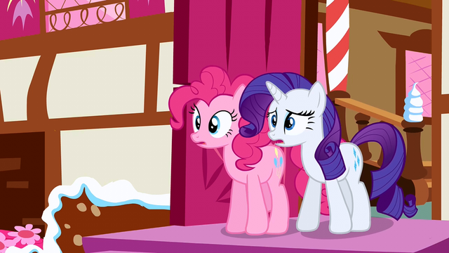 File:Rarity & Pinkie Pie see trouble S2E19.png