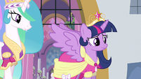 Princess Twilight clears throat S3E13