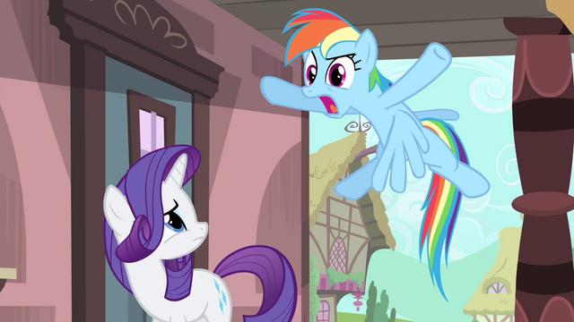 "File:Rainbow ""like a big ball of 'lame'!"" S4E11.png"