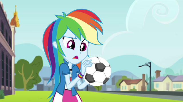 "File:Rainbow Dash ""they don't have cell phones"" EG2.png"