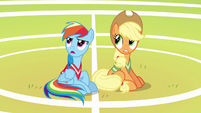"Rainbow Dash disappointed ""no"" S6E18"