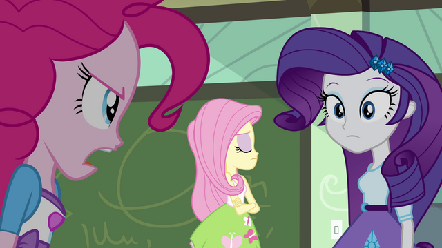 "File:Pinkie Pie ""what are you talking about?"" EG.png"