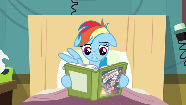 File:Rainbow Dash starts to read S2E16.png