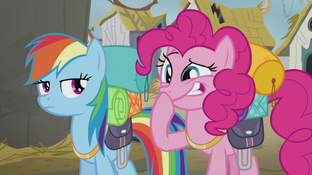 File:Rainbow looks at Pinkie laughing S5E8.png