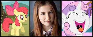 File:FANMADE Michelle Creber voice actress of Sweetie Belle & Apple Bloom.jpg