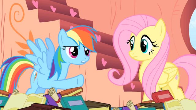 File:Rainbow Dash points the hoof S1E16.png