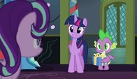 "Twilight ""your first Hearth's Warming Eve here"" S6E8"