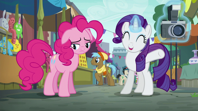 """File:Rarity """"she's going to absolutely love it!"""" S6E3.png"""
