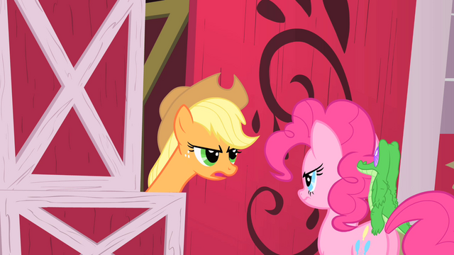 File:Applejack and Pinkie2 S01E25.png