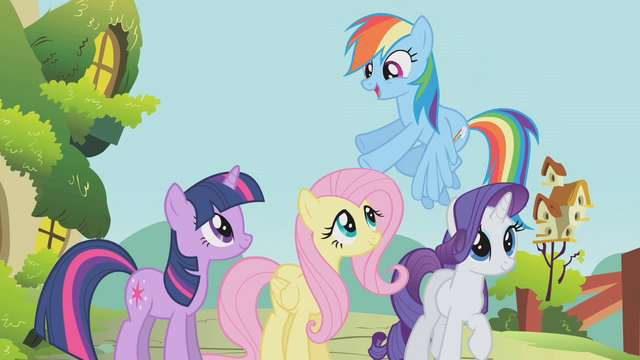 "File:Rainbow Dash ""drive 'em back into the forest"" S1E10.png"