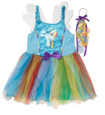 Rainbow Dash costume-Asda george