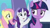 "Rarity ""some great, princess-worthy deed!"" S6E1"