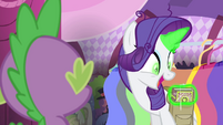 "Rarity ""and with this book"" S4E23"