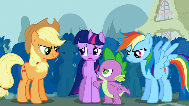 File:Spike wants Twilight to challenge Trixie S1E06.png