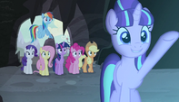 "Starlight exclaiming ""behold!"""