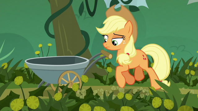 File:Applejack begins her field work S5E16.png