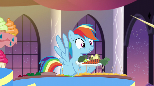 "File:Rainbow ""No, it's broccoli!"" S5E15.png"