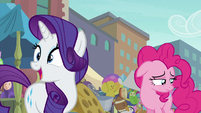 Rarity describing the rock pouch S6E3