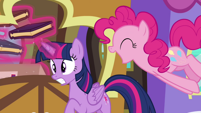File:Pinkie Pie startling Twilight S4E22.png