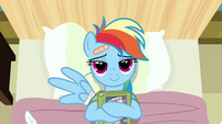 Rainbow Dash loves reading S02E16