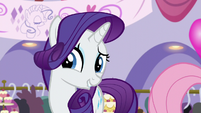 Rarity smiles gleeful S5E14