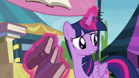 "Twilight ""sit up there all alone doing nothing"" S4E22"