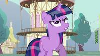 Twilight mad at Rainbow Dash S03E13