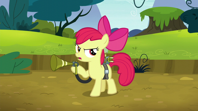File:Apple Bloom beckoning the twittermites S5E4.png