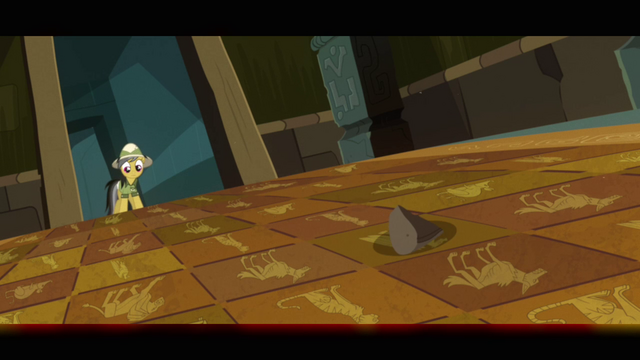 File:Daring Do tests floor trap with rock S2E16.png