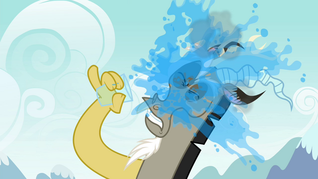 File:Discord splashes himself with water S4E25.png