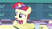 """Filly Moon Dancer """"you need to add the molasses first"""" S5E12"""