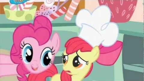 Pinkie Pie's Cupcake Song French Version
